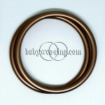 Nicerings - large rings (pair) - Bronze