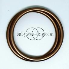 Nicerings - large rings (pair) - Bronze