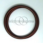 Nicerings - large rings (pair) - Brown