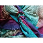 Little Frog Lovely Dark Rainbow Ring Sling
