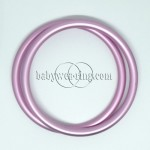 Nicerings - large rings (pair) - Light pink