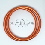 Nicerings - large rings (pair) - Orange