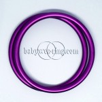 Nicerings - large rings (pair) - Purple