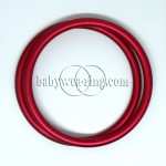 Nicerings - large rings (pair) - Red