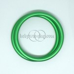 Nicerings - medium rings (pair) - Green