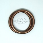 Nicerings - small rings (pair) - Brown