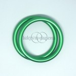 Nicerings - small rings (pair) - Green
