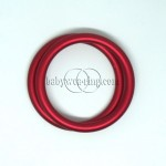 Nicerings - small rings (pair) - Red