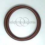 Nicerings - large rings (pair) - Brown