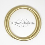 Nicerings - large rings (pair) - Champagne