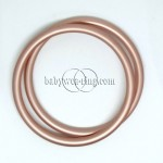 Nicerings - large rings (pair) - Peach