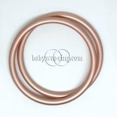 Nicerings - large rings (pair) - Peach