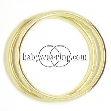 Nicerings - large rings (pair) - Shiny Gold