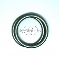 Nicerings - small rings (pair) - Dark gray