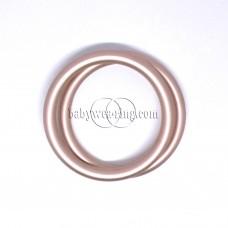 Nicerings - small rings (pair) - Peach