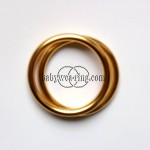 Nicerings - small rings (pair) - Shiny Gold