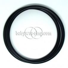Nicerings - extra large rings (pair) - Black