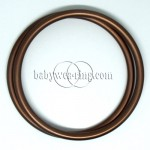 Nicerings - extra large rings (pair) - Brown
