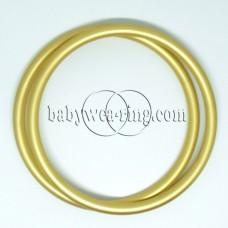 Nicerings - extra large rings (pair) - Gold