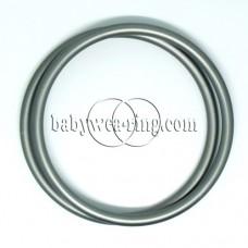 Nicerings - extra large rings (pair) - Gray