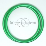 Nicerings - extra large rings (pair) - Green