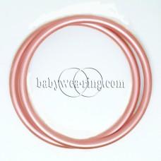 Nicerings - extra large rings (pair) - Peach