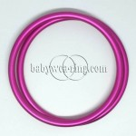 Nicerings - extra large rings (pair) - Pink