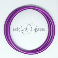Nicerings - extra large rings (pair) - Purple