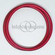 Nicerings - extra large rings (pair) - Red