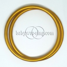 Nicerings - extra large rings (pair) - Yellow